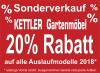 Saisonabverkauf Kettler Gartenmöbel
